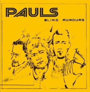 CD Cover: Pauls - Blind Rumours